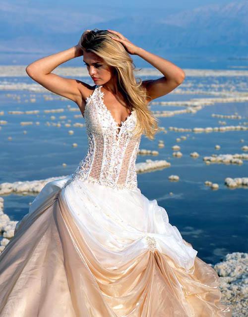 Wedding Dresses For A Beach Ceremony : Bridal wedding dresses outfits for the beach front marriage ceremony